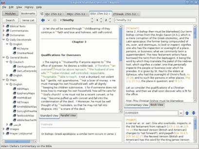 Xiphos -- Open Source Bible Study Software -- Home